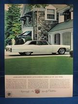 Vintage Magazine Ad Print Design Advertising Cadillac Eldorado - $12.86