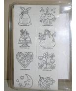 Stampin' Up Just For Fun 2000 Rubber Stamp Set - 8 Stamps - $39.99