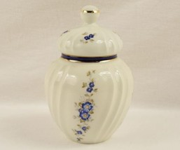"Handpainted ""Perugina"" by ""Aurora"" made in Firenze Italy Covered Jar / Urn - $19.95"