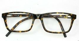Lacoste 12033 Full Rim Unisex Brown Tortoise Rectangle Eyeglass Frame 51... - $28.96