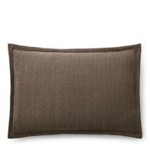 Ralph Lauren Modern Icons Roth Maynor Herringbone Standard Sham - $82.40