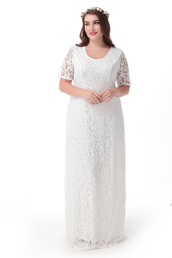 Lace maxi Dresses at Bling Brides Bouquet- Online Bridal Store image 1