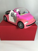 "Vintage 2000 Mattel ""Polly Pocket"" Pink Convertible Zebra Seat Car - $9.89"