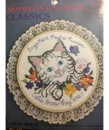 Cats are Human No. 3721 Stamped Cross Stitch Classics - $21.77