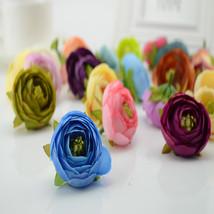 100pcs Silk Small tea artificial flowers decoration wedding - $33.95