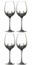 Waterford Lismore Essence Goblet 4 Goblets Glasses New # 143781 - $273.49