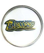Snap Jewelry Black Hawk Christian Braves Logo 18MM - 20MM Fashion Hich S... - $5.83