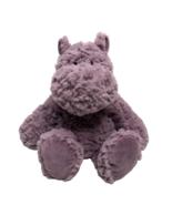 Nat & Jules Purple Hippo Plush Hippopotamus Mellow Fellows Livia Stuffed... - $27.54
