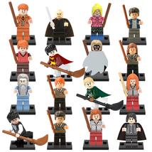 16pcs Harry Potter Hermione Ron Weasley Voldemort Dumbledore Etc Fit Leg... - $18.99