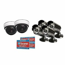 Swann Fake Security Camera Kit, Home Surveillance (Fake Security Camera ... - $61.16