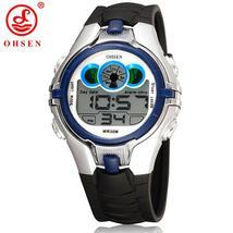 OHSEN Boys Girls Children Kids Sport Watches Waterproof Blue Wristwatch ... - $39.54