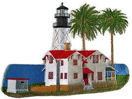 Custom and Unique Lighthouse[New Point Loma Lighthouse] Embroidered Iron... - $21.77