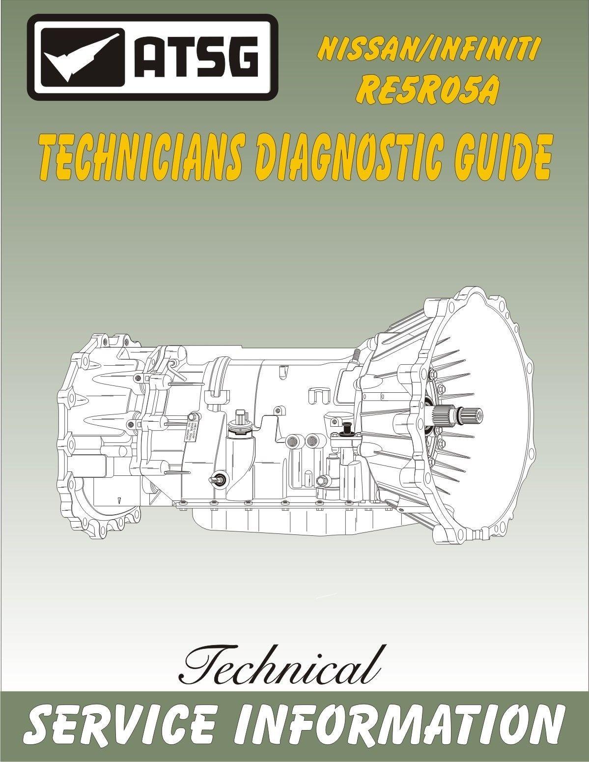 NISSAN-INFINITI-TRANSMISSION RE5R05A Technicians Diagnostic Guide-SERVICE  MANUAL