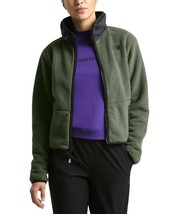 The North Face Women's Dunraven Sherpa Cropped Jacket, New Taupe Green N... - $57.60