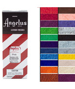 Angelus Leather Suede Dye Dressing For Boot Bags 3Oz W/ Applicator All C... - $8.95