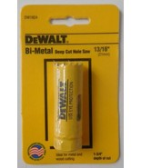 """Dewalt DW1824 13/16"""" Bi-Metal Deep Cut Hole Saw USA - $3.47"""