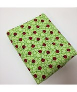 "2 & 7/8 Yards Charms Patty Reed Designs Fabric 42""w 100% Cotton Ladybugs - $15.47"