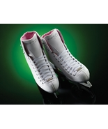 Riedell 114 Pearl Ladies Ice Skate White Size 5 [Misc.] - $109.99