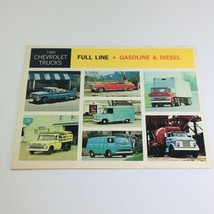 1965 Chevrolet Full-Line Truck Selector Dealership Car Auto Brochure Catalog - $10.65
