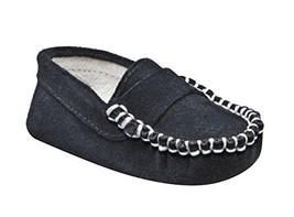 Suede Trumfit Baby Moccasin Newborn Infant Crib Shoe (3-6 Months, Dark N... - $25.00