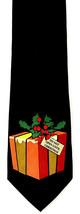 Don't Open Until Christmas Men's Necktie Ralph Marlin Present Black Neck... - $19.75