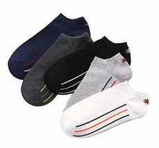 Black Temptation 5 Pairs of Socks Men's Cotton Socks Sports Socks Breath... - £12.82 GBP