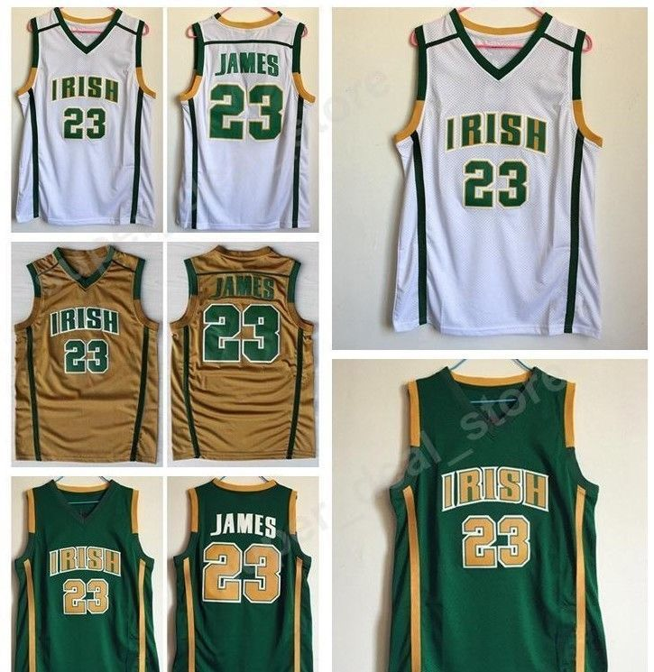 9b7e29abcf8 LeBron James St. Vincent St. Mary Irish High and 50 similar items