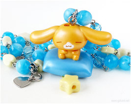 Kawaii Toy Necklace, Fairy Kei, Sweet Lolita, OOAK, Jfashion - $38.00