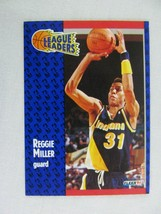 Reggie Miller Indiana Pacers 1991 Fleer Basketball Card 226 - $0.98
