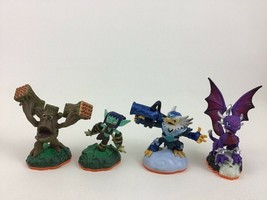 Skylanders Figure Lot Life Stealth Elf Stump Smash Undead Cynder Air Jet Vac - $12.82