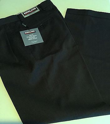 Primary image for NWT Kirkland Signature Men's Dress Pants Italian 100% Wool Beautiful All Sizes
