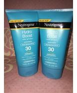 2 Neutrogena Hydro Boost Water Gel Lotion SPF 30 Sunscreen  5.0 oz. Exp.... - $19.79