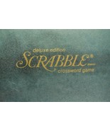 1977 Scrabble Deluxe Edition Complete Red Tiles Turntable  - $32.40