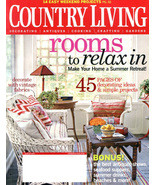 COUNTRY LIVING Magazine - August Issue 2007 - $6.00