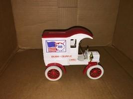 VINTAGE NEW ERTL 1905 DELIVERY CAR BUSH - QUAYLE 1988 ELECTION  DIECAST ... - $9.50