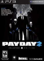 Payday 2 (Collector's Edition) - Playstation 3 [video game] - $51.00