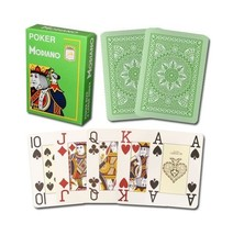 Modiano Cristallo 4 Pip Large Index Poker Playing Cards – 100% Plastic  ... - $7.75