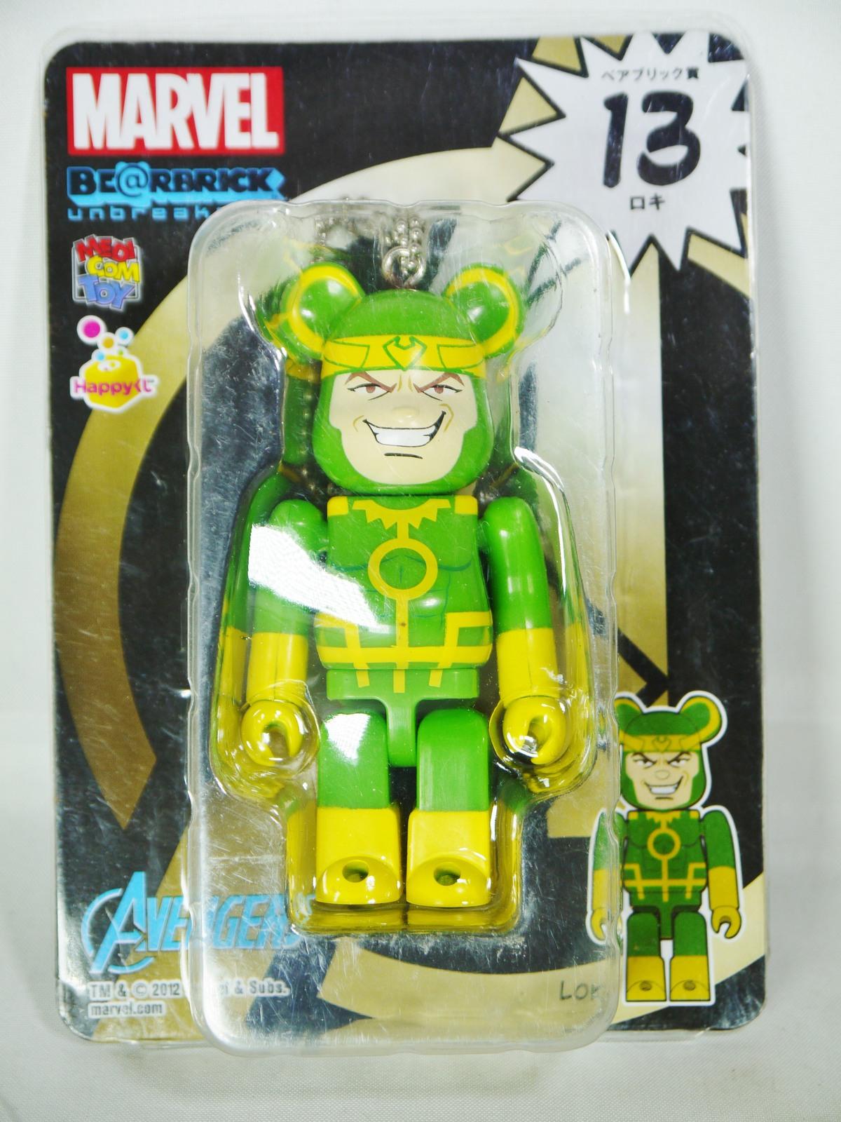 Bearbrick marvel avengers loki 1