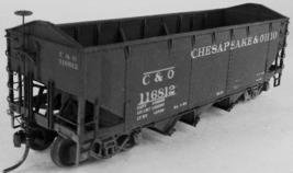 "F&C HO  C&O 50 Ton H5-27 "" baby "" tripple Hopper Kit 8420 image 2"