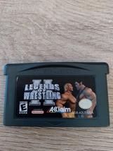 Nintendo Game Boy Advance GBA Legends Of Wrestling II image 2