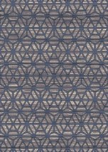 Symphony Area Rug (5'2'' X 7'6'') Design 27009 Blue Beige Ivory Cream Trellis Mo - $69.00