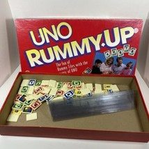 Vintage Uno Rummy-Up 1993 Tile Game by Mattel Made In USA Complete - $49.45