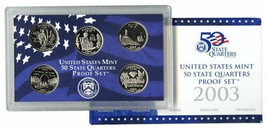 2003 and 2004 State Quarter Proof Sets Original US Mint Packaging CP3613 - $14.98
