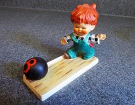 "Vintage Goebel Bowling Boy ""Strike"" Figurine - $18.69"
