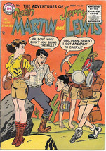 The Adventures of Dean Martin and Jerry Lewis Comic Book #25 DC 1955 FINE - $54.10