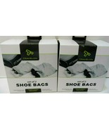 2 Travelon Set of 2 Shoe Bags Gray / NEW (4 bags total) New! - $11.63