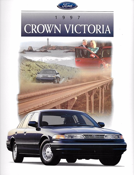 Primary image for 1997 Ford CROWN VICTORIA brochure catalog 97 US LX