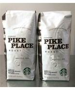 2 LBS STARBUCKS Pike Place Whole Bean Coffee Medium Roast FRESH 100% Ara... - $27.60