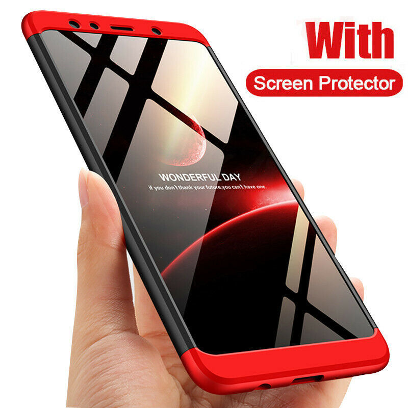 H&A 360 Degree Full Cover Phone Case For Samsung Galaxy J4 Plus J6 Plus J8 A7
