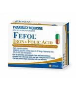 Fefol Iron & Folate Supplement 60 Capsules - $77.00